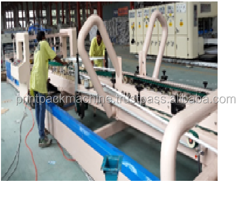 Corrugated Box Automatic Folder Gluer