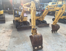 used excavator Komatsu PC18MR-2 at fachtory price/ used excavator PC20-7 PC30 PC30MR-2 PC35MR