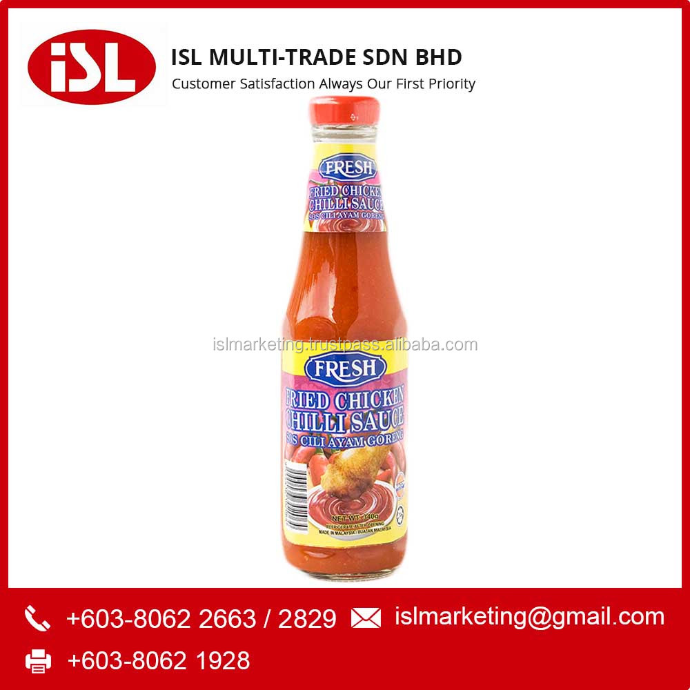 ISL MULTI TRADE FRESH Fried Chicken halal Chilli Sauce Bottle