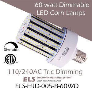 60 watt LED Dimmable Corn Lamps 250w metal halide led replacement E39 Mogul Base