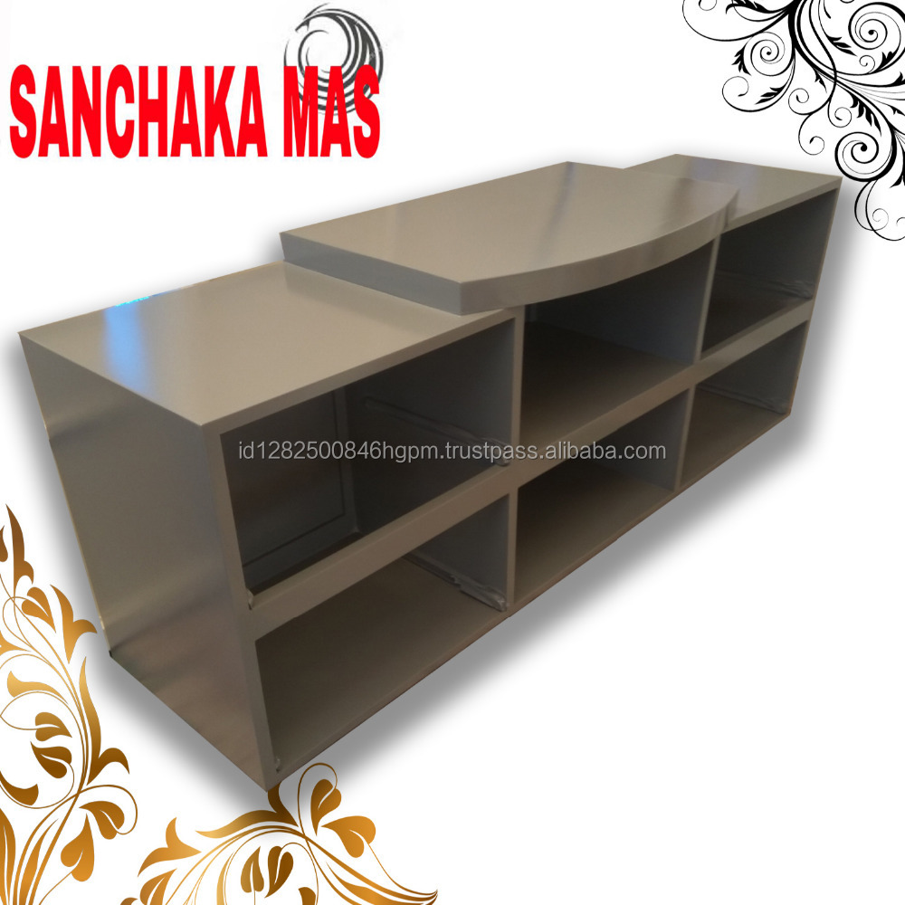 Newest modern Tv Stand for living room set with wooden material for lcd tv