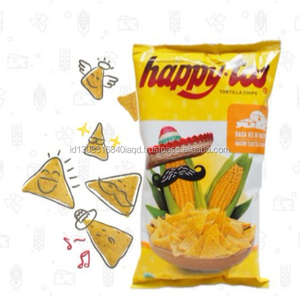 Corn Chip Tortilla Nacho Cheese Flavour from Indonesia