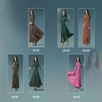 LT Nitya NX Print Rayon Cotton Print Full Stitched Ready To Wear PartyWear Gown StyleLong Kurti Kurta For Indian Women And Girls