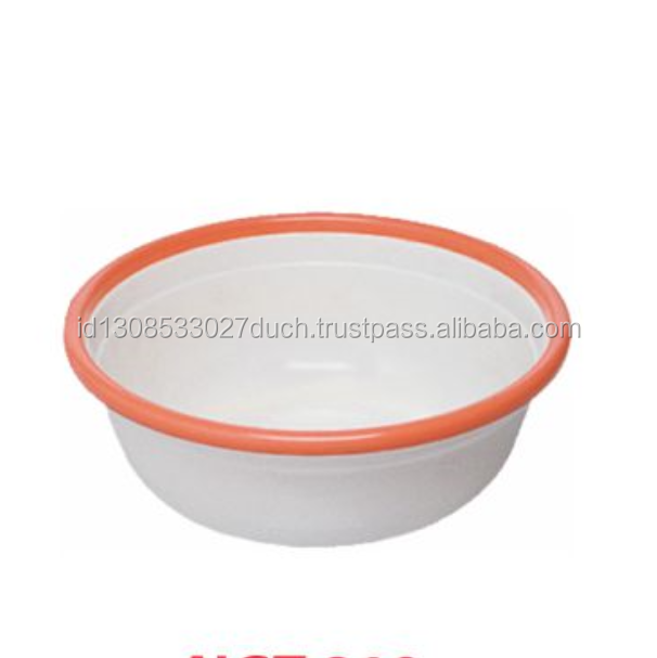 Food Safe Colorful Round Plastic Basin For Vegetable and Fruit