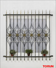 simple iron window grill design