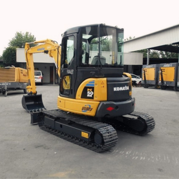 널리 used in 협 conditions PC50 small Komatsu 굴삭기