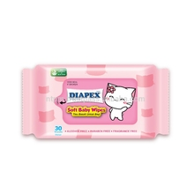 Diapex Soft Baby Wipes Quality Cleaning Mother Care Wet Wipes
