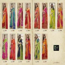 Kessi Bandhani Bandhej Sari Saree Indian Festival And Occassional Wear Saree