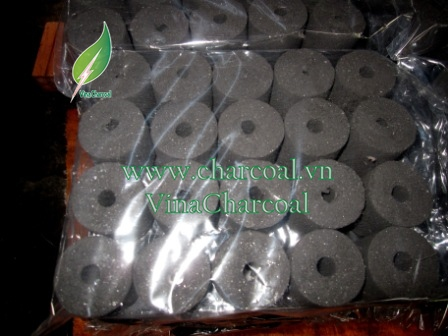 Coconut shell for BBQ charcoal with high quality, white ash and safety for environment