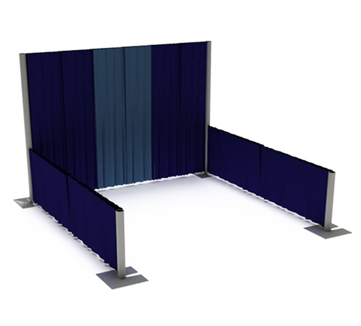 Portable aluminum event photo booth backdrop stand for exhibition