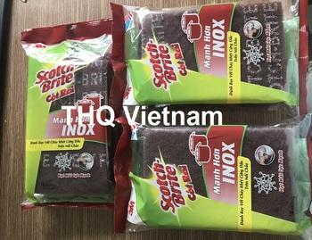 [THQ VN] Scotch Brite Super Clean Scourer  4 packs
