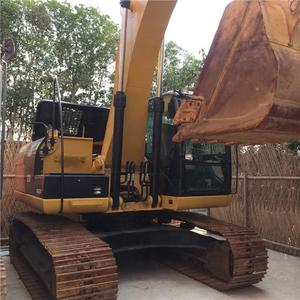 Japan original caterpillar 323D crawler excavator in Shanghai China, cheap low price 323D