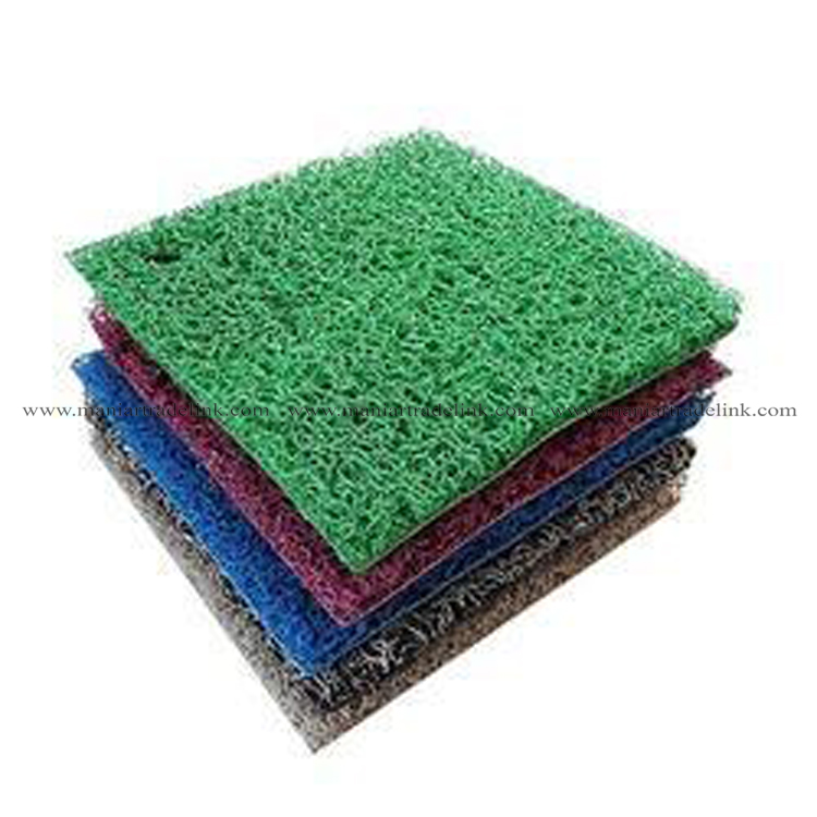 Durable low price indoor/outdoor PVC coil door mats