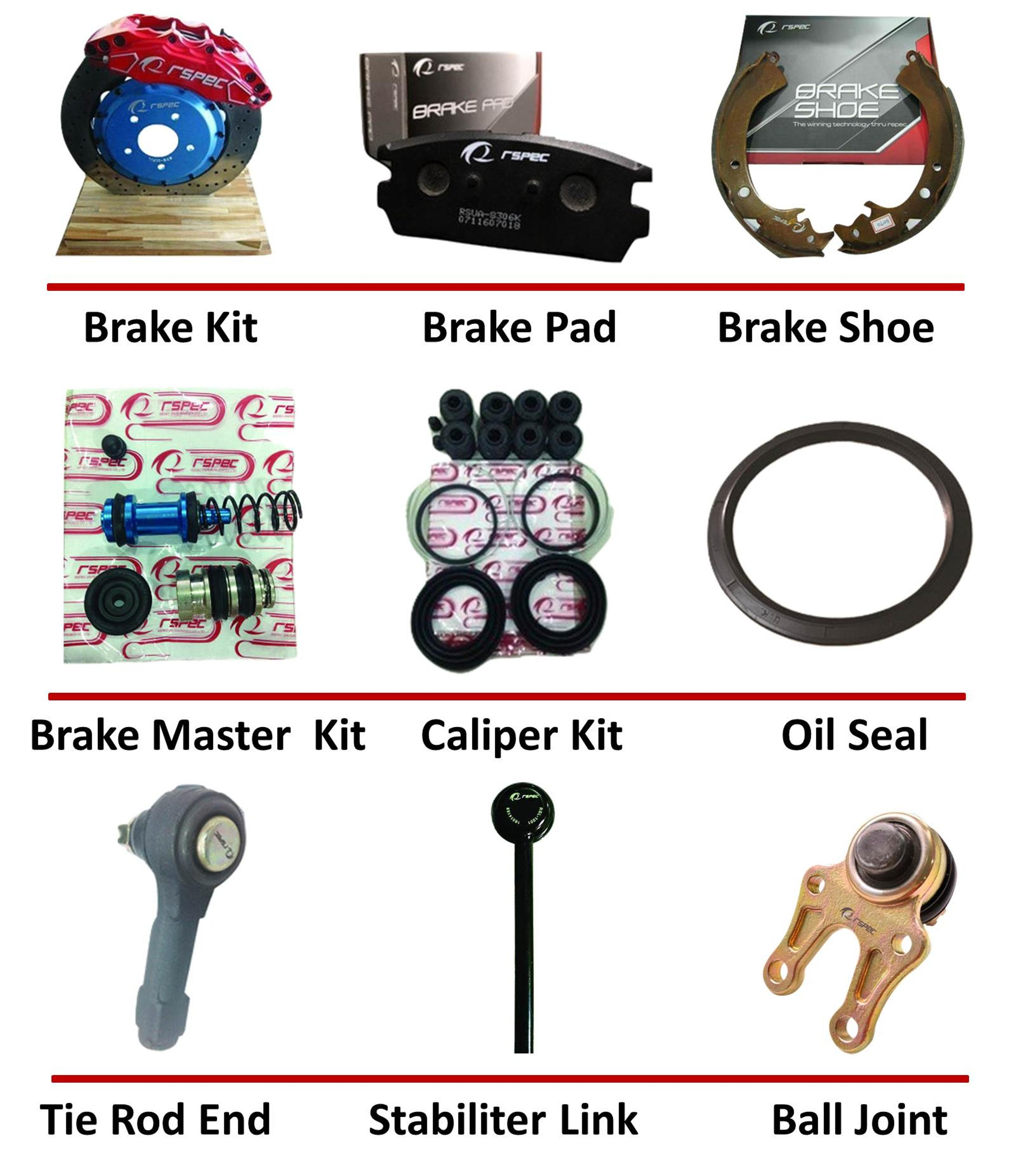 racing 4pot6pot8pot big brake kit/brake cover kit