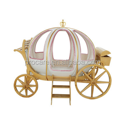2018  high quality Pumpkin Princess Bed children bedroom furniture