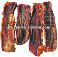 Good quality beef jerky meat with standard of BRC, HACCP, ISO for snack