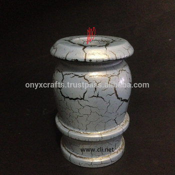 Infant Tea Light Candle Holder Funeral Urns in Stone wholesale price