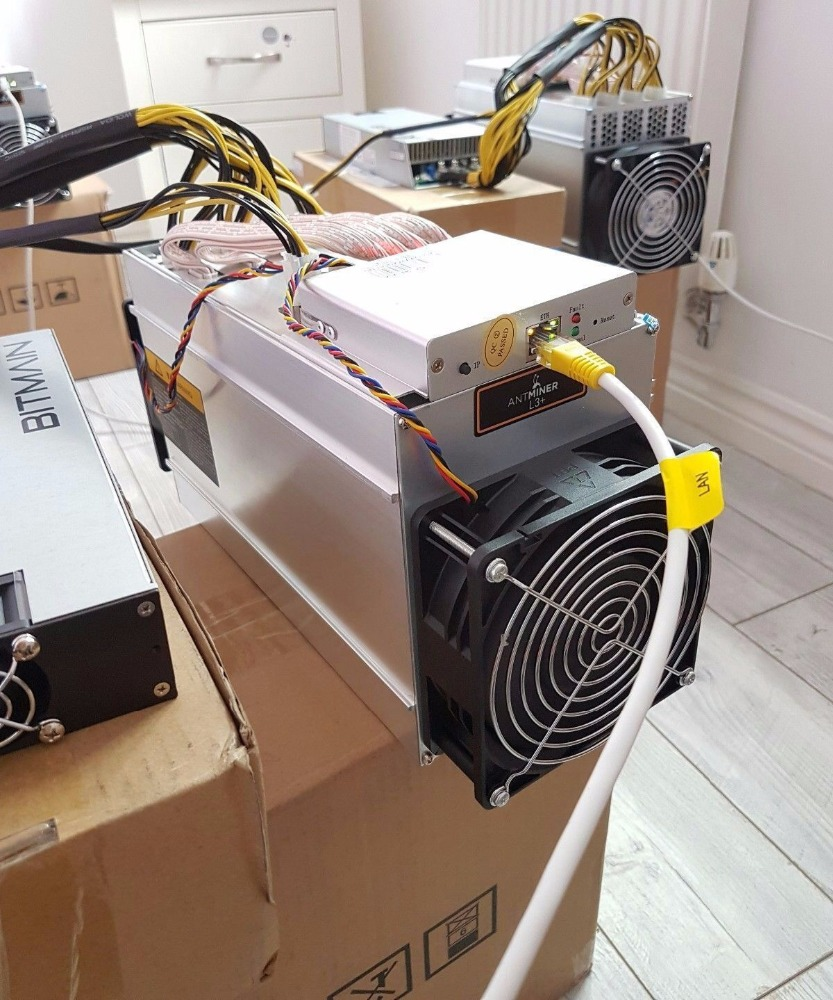 Brand New Antminer L3+ Scrypt Litecoin LTC 504 Mh s Miner 800W + power supply- READY TO SHIP NOW