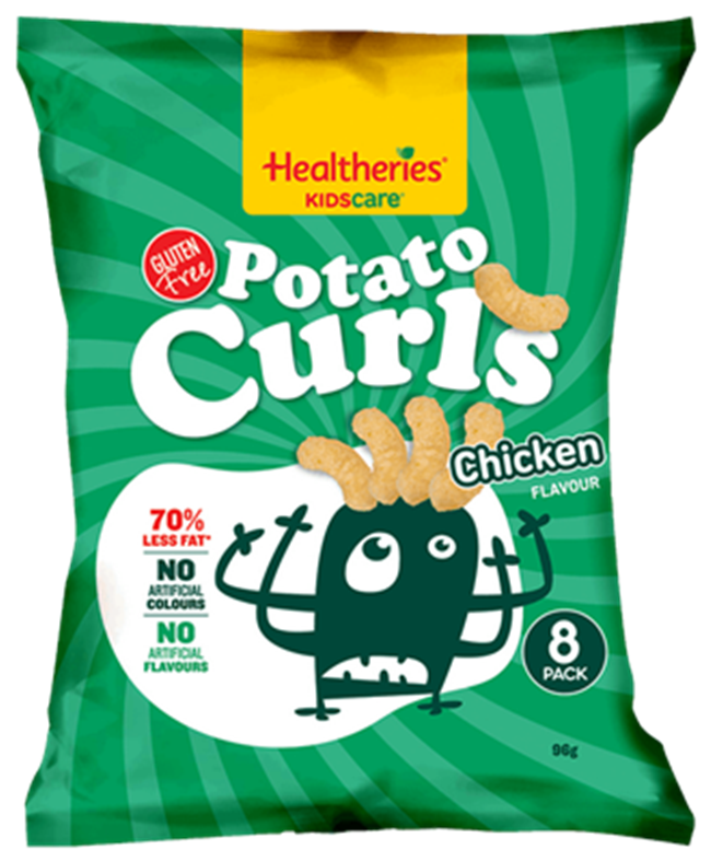 Gluten Free with no Artificial Colours, Packaging Bag Snack Food