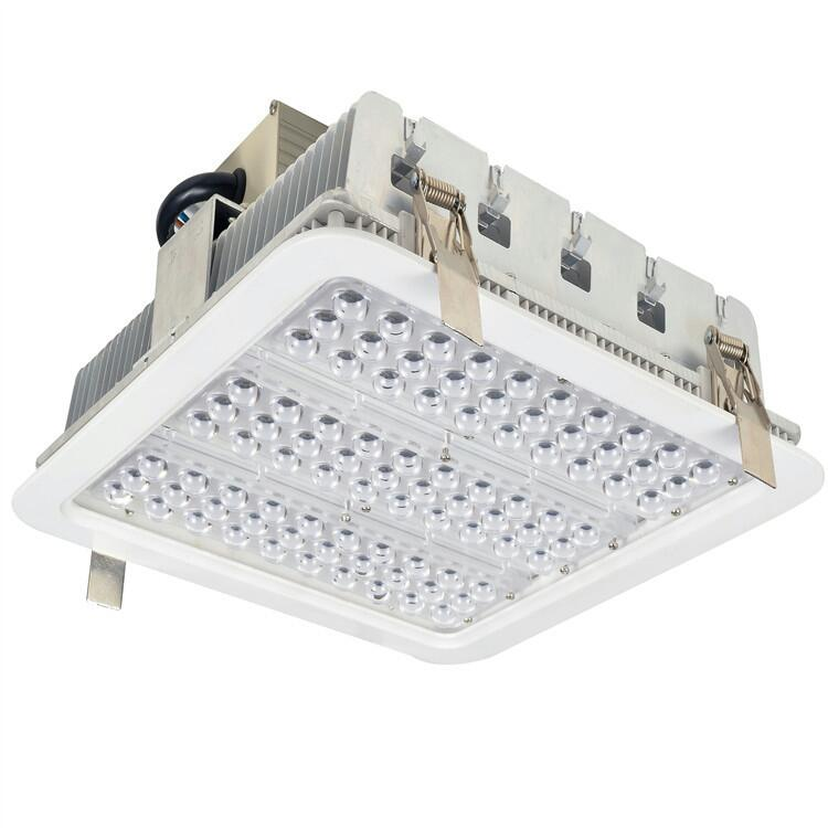 AIRA 100W RECESSED LED CANOPY LIGHT