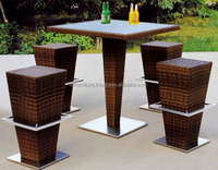 Vietnam Synthetic Rattan Furniture/Outdoor fuurniture Bar sets