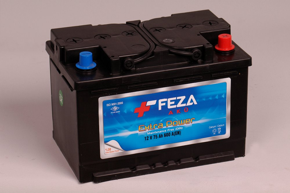 12 v 75 ah lead acid battery for car auto starting