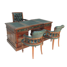 Best Quality Green Set Wood Table Office Furniture