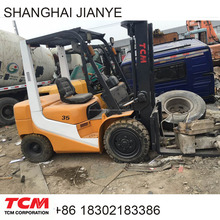 used 3 ton mini Japan Origin TCM diesel forklift truck for sale