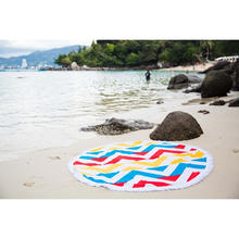 Round Beach Towel, Made in Turkey