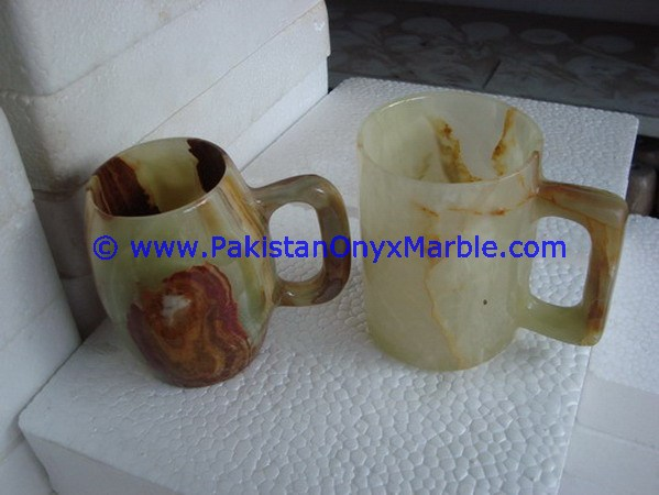 CUSTOM DESIGN AND SIZE ONYX COFFEE CUPS OR MUGS HANDICRAFTS