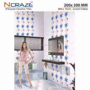 Interior Decorative Ceramic Wall Tiles for Kitchen,Bathroom and Bedroom (200 x 300 MM)