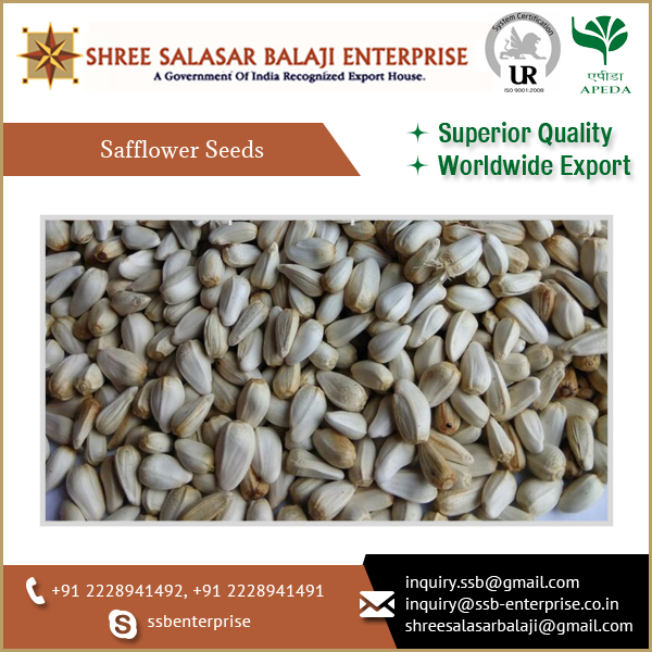 SAFFLOWER SEEDS FROM BEST EXPORTER AVAILABLE FOR EXPORT AT A CONSIDERABLE PRICE..