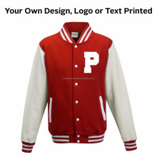 Custom Varsity Jackets Synthetic Leather Sleeves / Blue white with yellow rib design letterman jackets / NWSJ-609 / AT NOKI