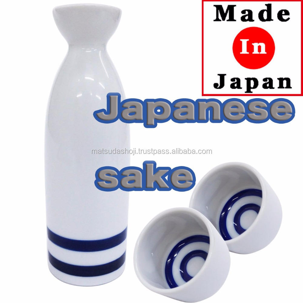 Reliable and Popular china tableware japanese sake bottle&cup set for Professional use , household use also available