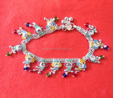Designer Artificial Silver Accessories Payal