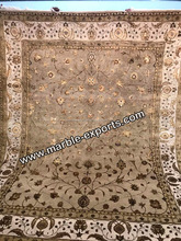 High Quality 100% Silk and Wool Handmade HandTufted Carpet