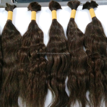 Natural Unprocessed Raw Virgin Indian Human Hair Extensions Straight wavy Curly Hair From New Delhi India
