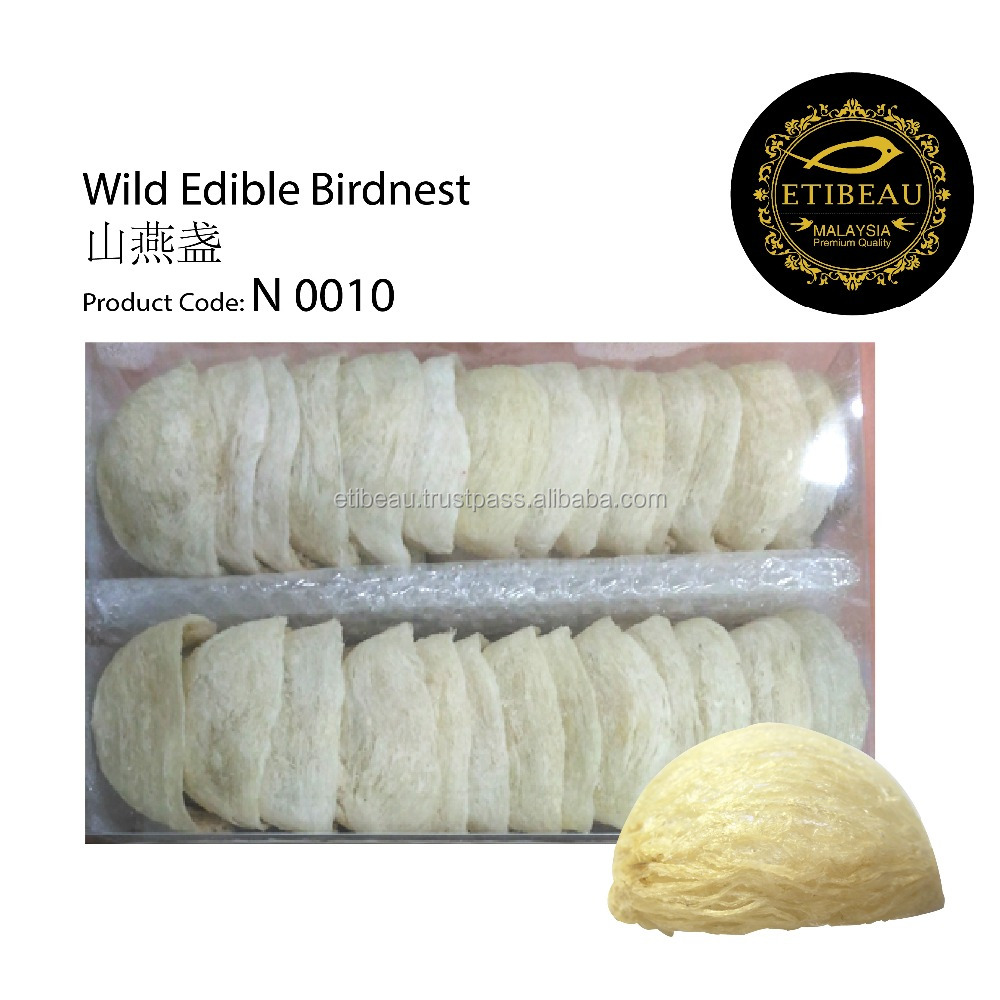6A grade Malaysia Edible Bird Nest 100% Pure Ivory color and Non Bleaching Manufactured from Malaysia