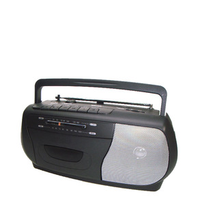 CT-130 AM/FM Portable AC/DC radio with Cassette Recorder Radio
