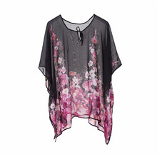 lovable long sleeve tunic for fashion Ladies Tops Tunic Beachwear Cover Up
