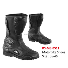 Comfortable Leather Motorcycle Shoes