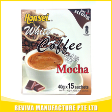 Wholesale honsei flavored instant white coffee