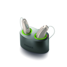 Phonak hearing aids wireless rechargeable Audeo B90-R RIC BTE hearing aid with Mini Charger