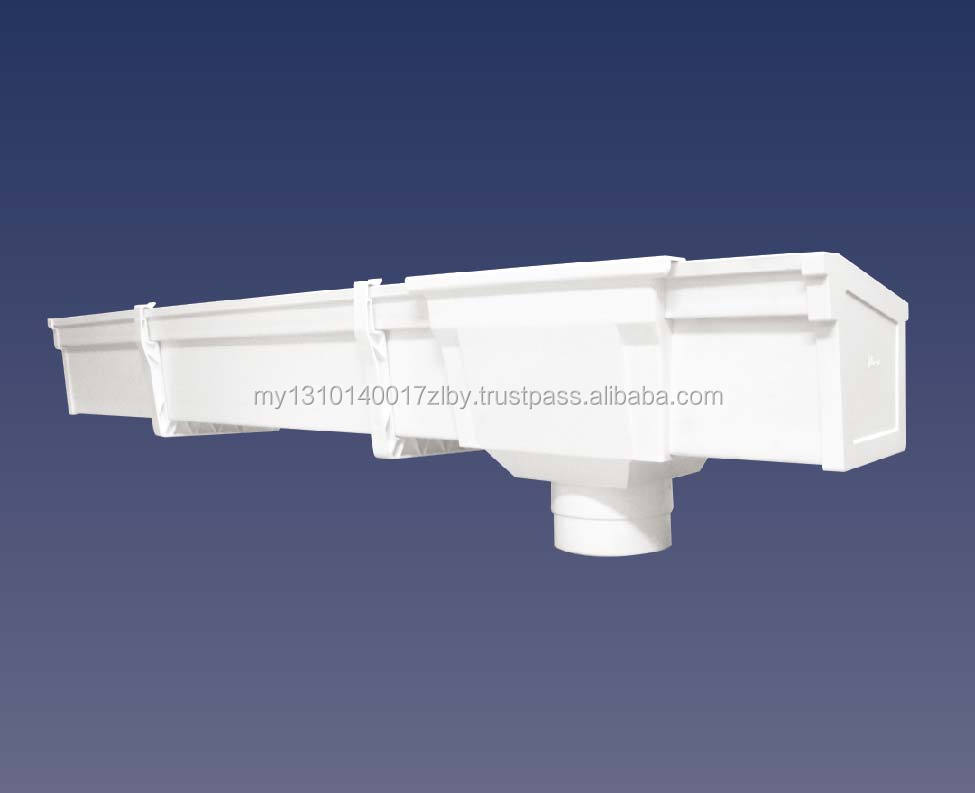 PVC RAIN GUTTER & FITTINGS
