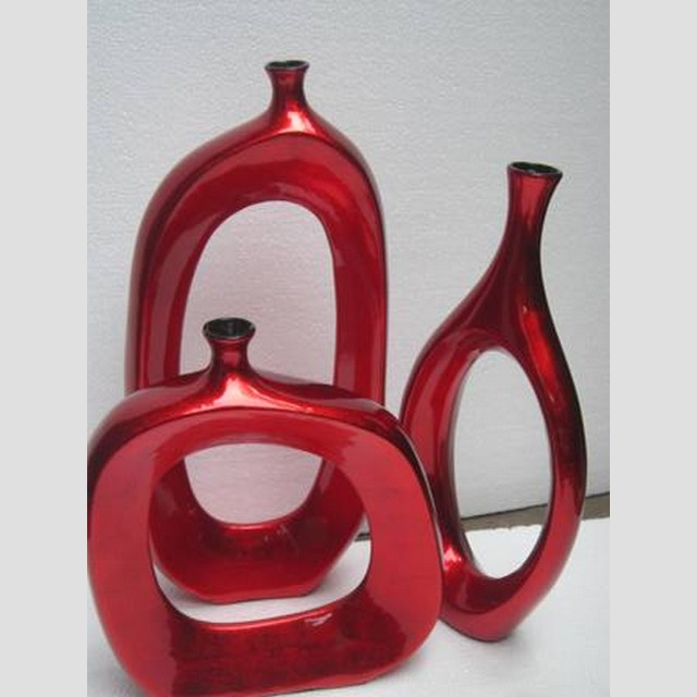 Home decor lacquer vase