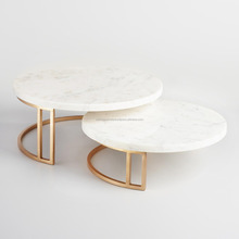 marble cake stand copper