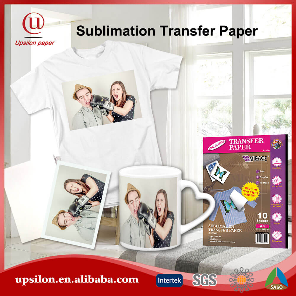 Glossy Sublimation Ceramic Transfer Paper For Mugs
