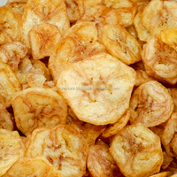 Banana chips 2.5 kg bulk crispy healthy snack from Thailand