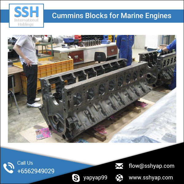 Export Quality Diesel Marine Engine Block