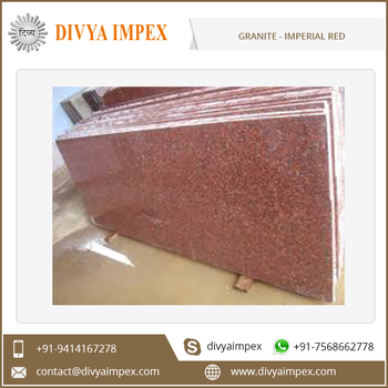 Granite Slab and Tiles Natural Polished Custom Size Imperial Red Granite Slab